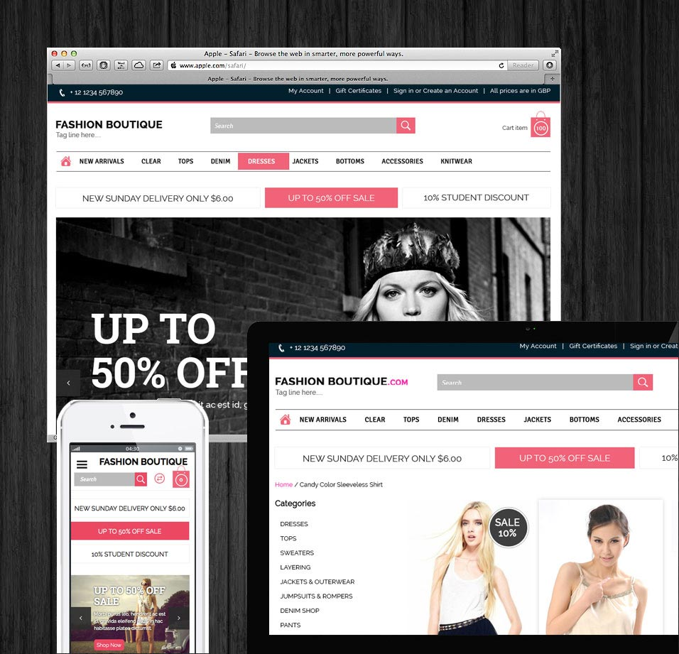 bigcommerce theme