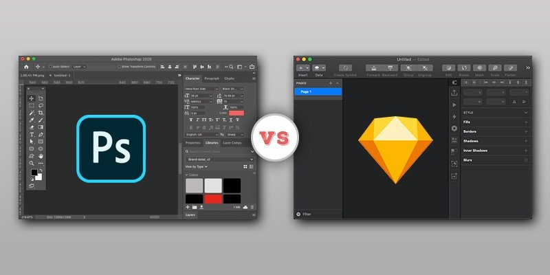 Why Sketch is the Better Option than Photoshop?