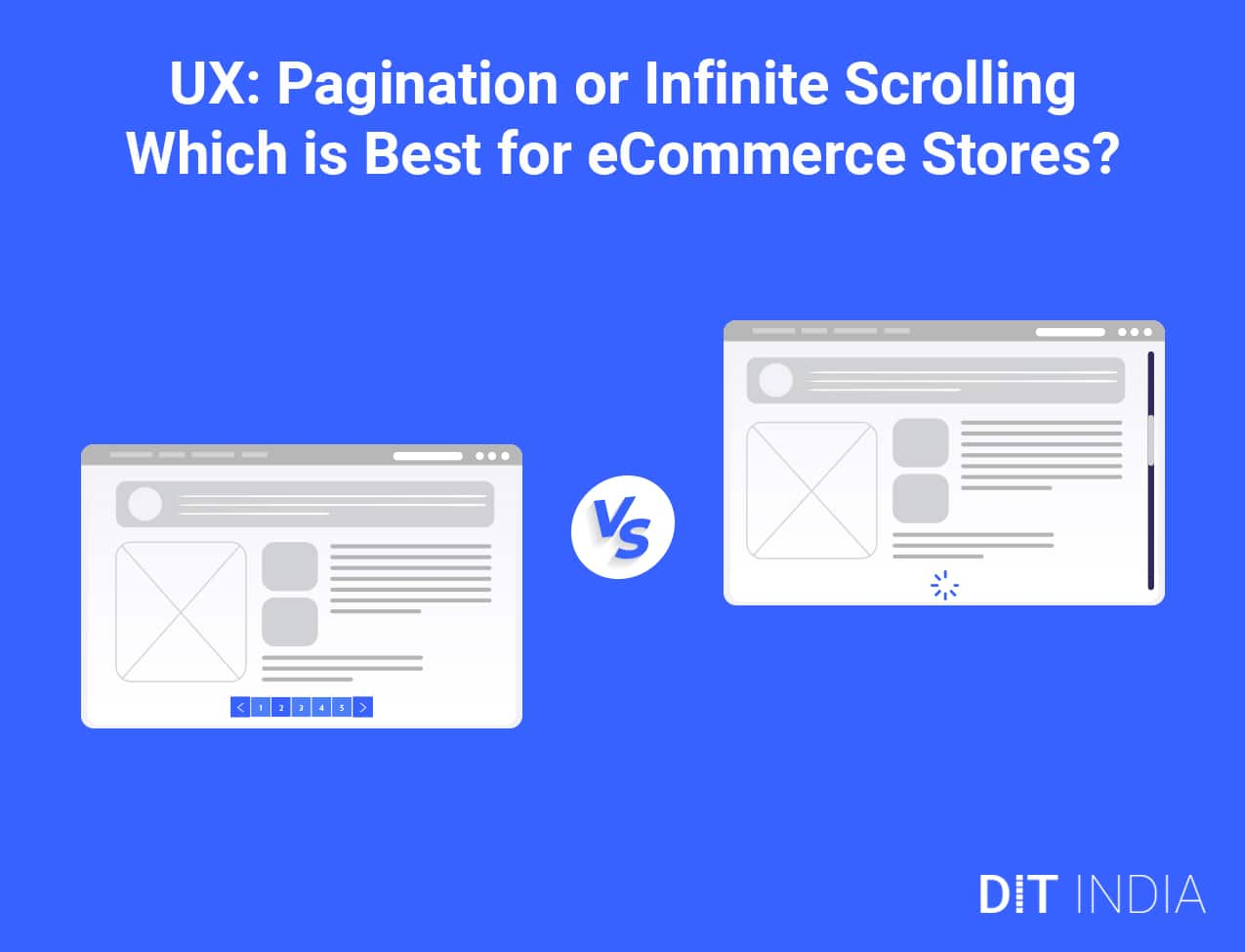 UX: Pagination or Infinite Scrolling – Which is Best for eCommerce Stores?
